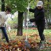 Осенний субботник в Зеленограде